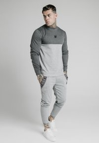 SIKSILK - ARC TECH FADE CREW - Sweater - grey marl - 1