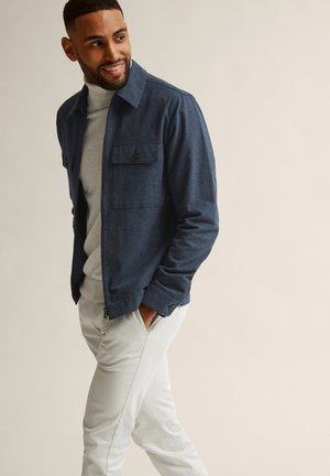 RICHARD  - Light jacket - blue melange
