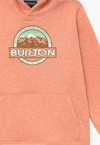 Burton - OAK - Mikina skapucí - pink dahlia heather - 3