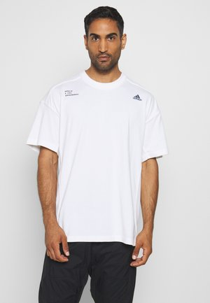 TECH TEE - T-shirt con stampa - white
