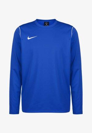 PARK 20 DRY CREW HERREN - Long sleeved top - royal blue / white