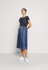 Gerry Weber Casual - A-line skirt - denim daze - 1