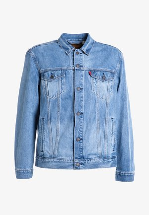 THE TRUCKER  - Kurtka jeansowa - blue denim