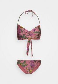 ONLY - ONLJULIE BRAZILIAN SET - Bikini - dusty rose - 0