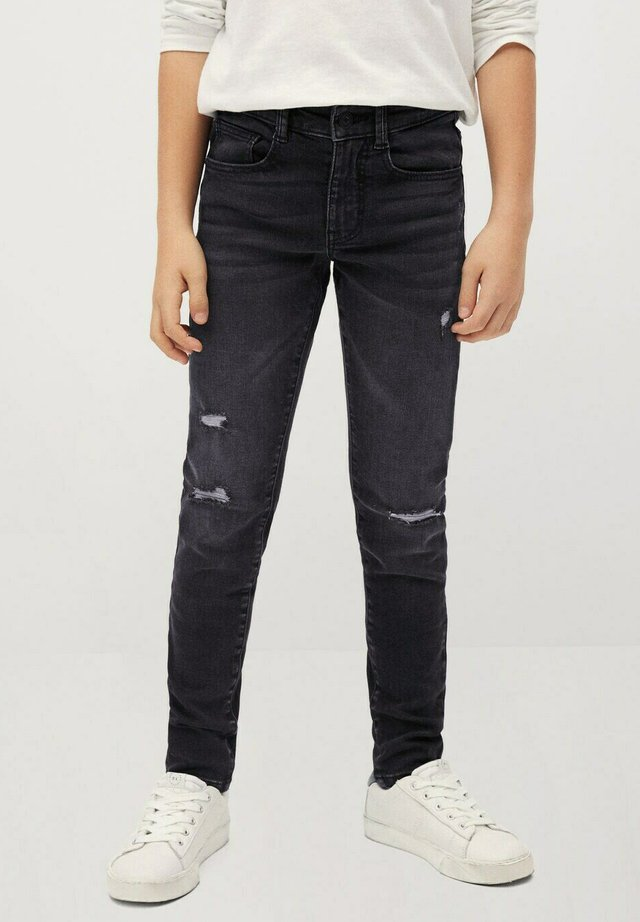 CALVIN - Slim fit jeans - black denim