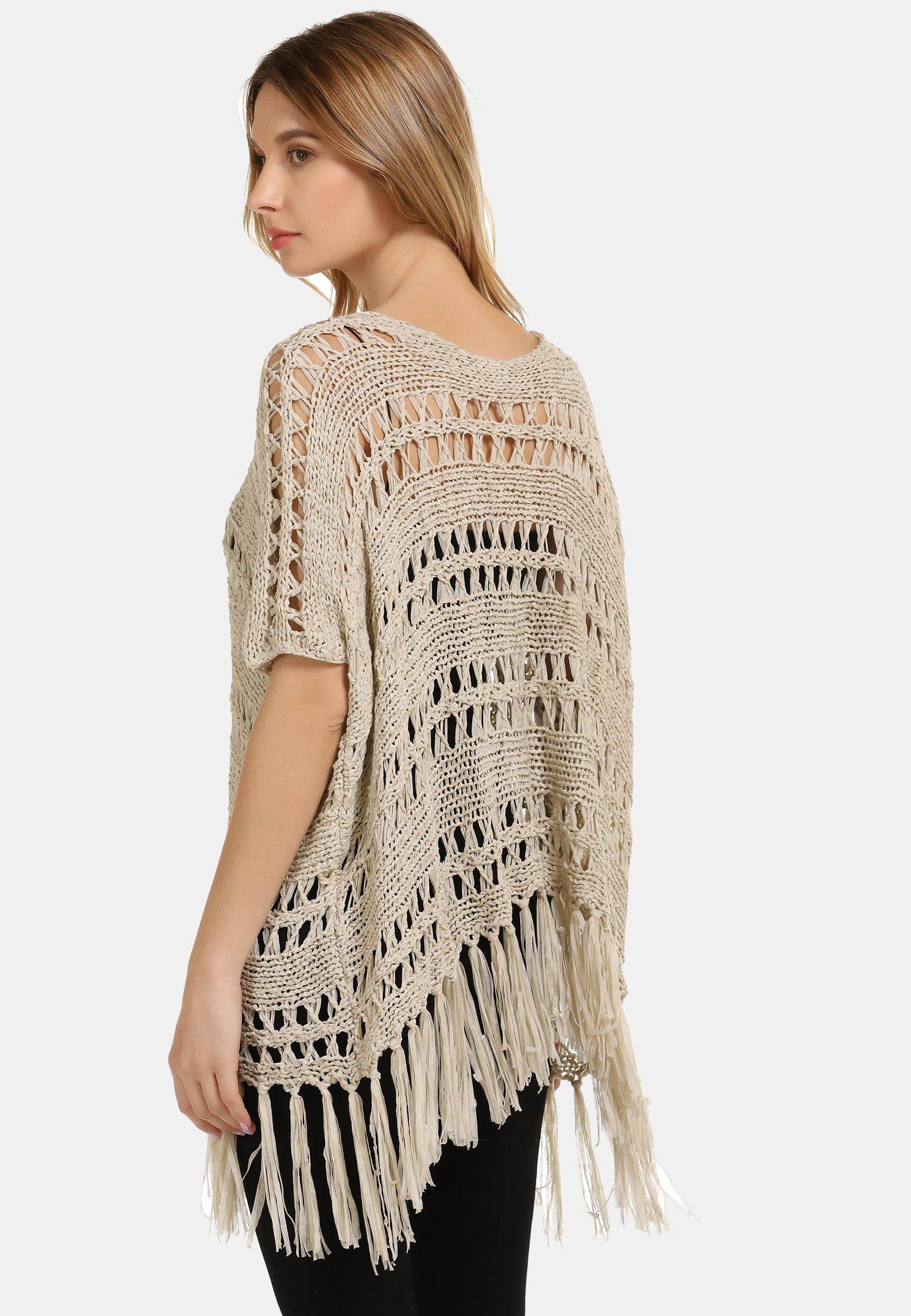 Online Shopping Women's Clothing usha Cape beige mWr3RTjKW