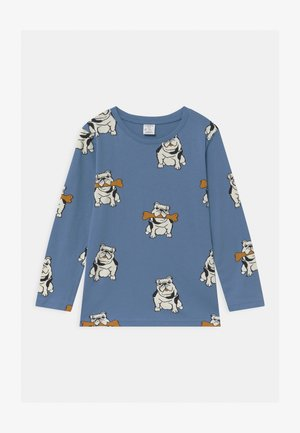 AUTHENTIC DOG UNISEX - Long sleeved top - dusty blue