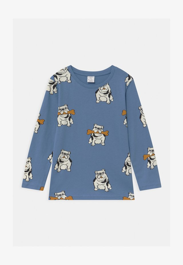 AUTHENTIC DOG UNISEX - Longsleeve - dusty blue