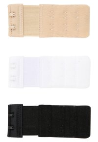 MAGIC Bodyfashion - BRA EXTENDER 3 PACK - Altri accessori - black/white/skin - 1