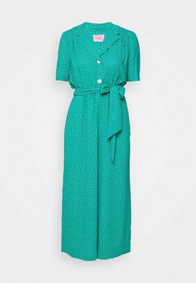 POOLSIDE DOT - Jumpsuit - emerald coast