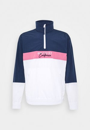 Summer jacket - navy/pink/white