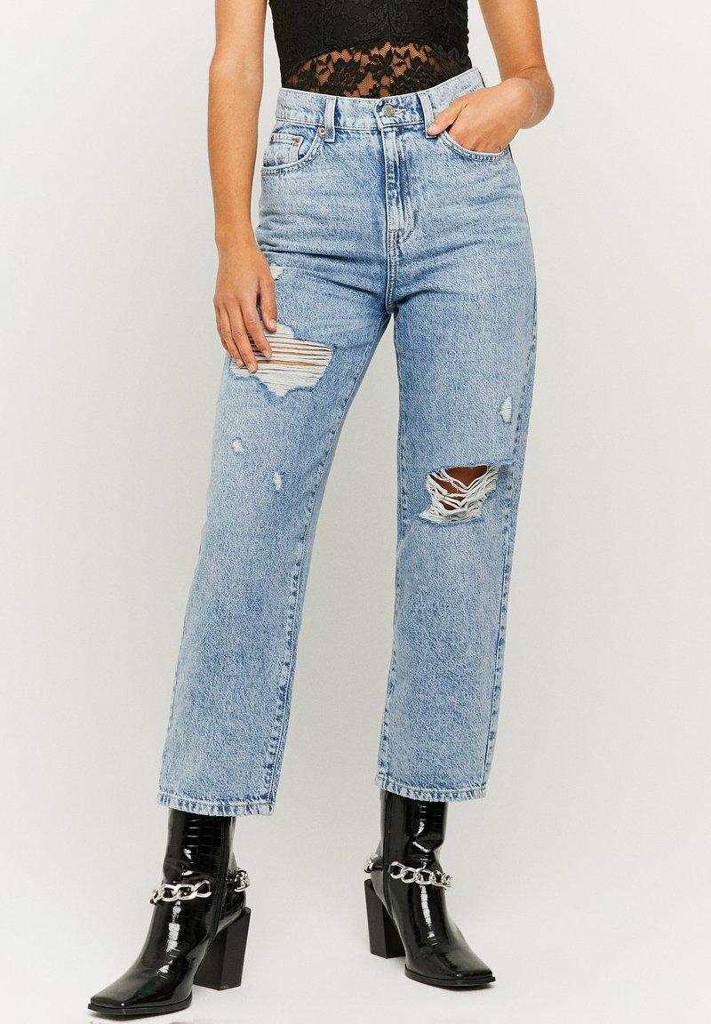 TALLY WEiJL - Straight leg jeans - bleached denim