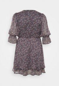 ONLY Carmakoma - CARINA LIFE PRINT TUNIC DRESS - Day dress - ombre blue - 1