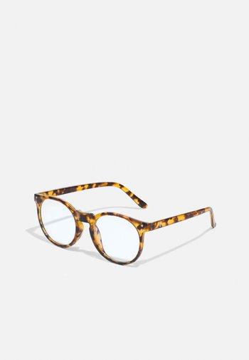 COTE DE BASQUES UNISEX - Glasögon som skyddar mot blått ljus - brown
