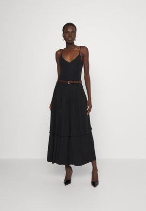 DANCER DRESS - Jersey dress - black