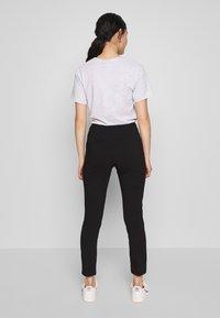 Vila - VIMARIKKA PANTS - Trousers - black - 2