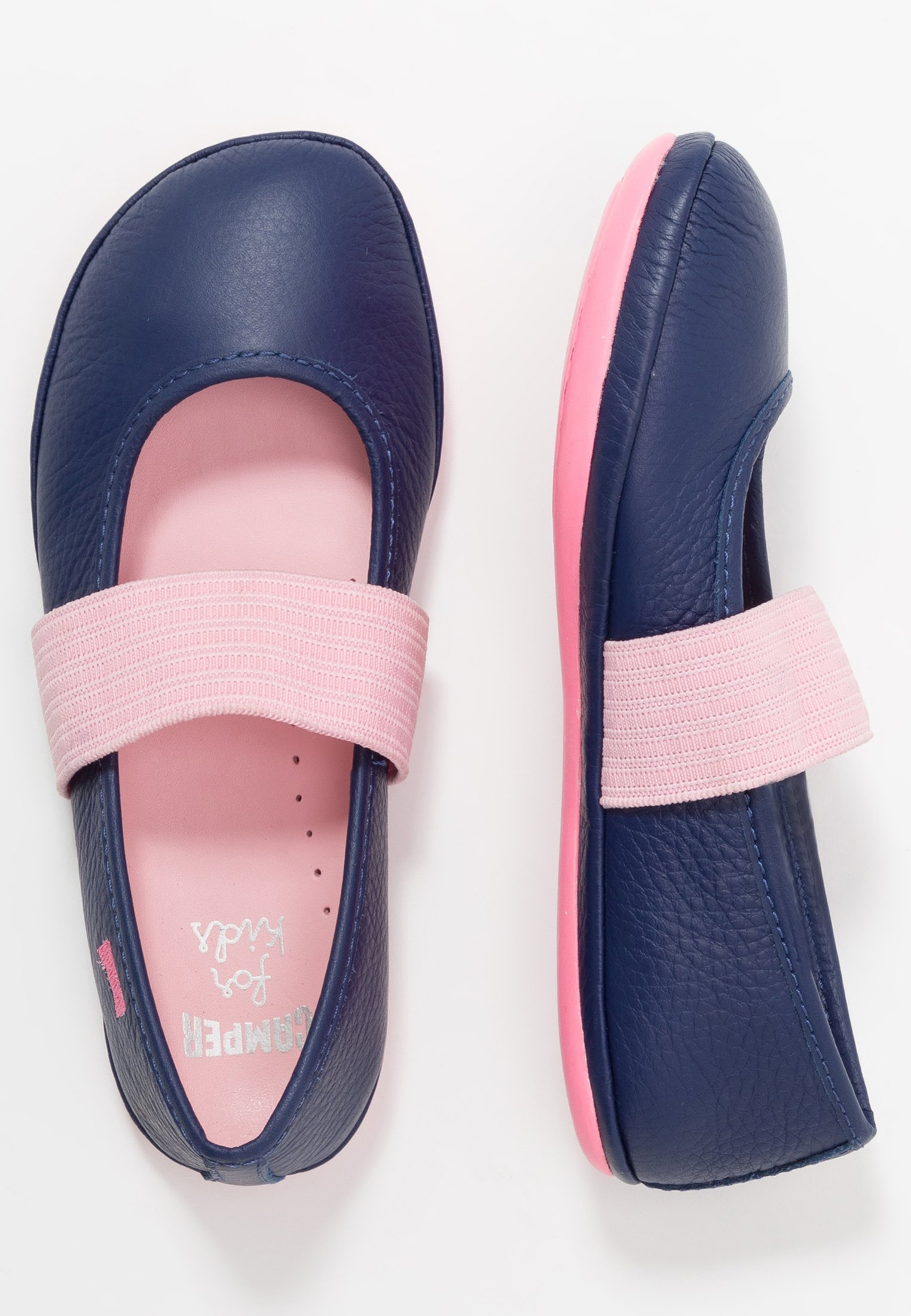 Up To Date Cheapest Camper RIGHT KIDS - Ankle strap ballet pumps - navy | kids shoes 2020 DoHWo