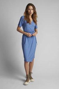 Nümph - Day dress - wedgewood - 0