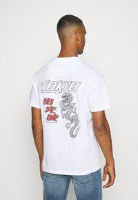 Nominal - TOKYO TEE - Print T-shirt - white - 2