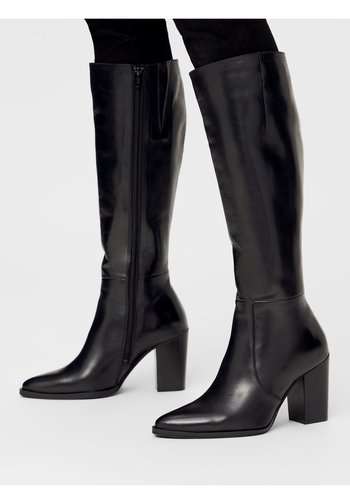 BIAJUDIA LONG BOOT - High heeled boots - black