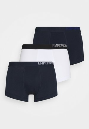 TRUNK 3 PACK - Pants - marine/white/marine