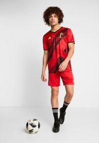 adidas Performance - BELGIUM RBFA HOME SHORTS - Short de sport - red - 1