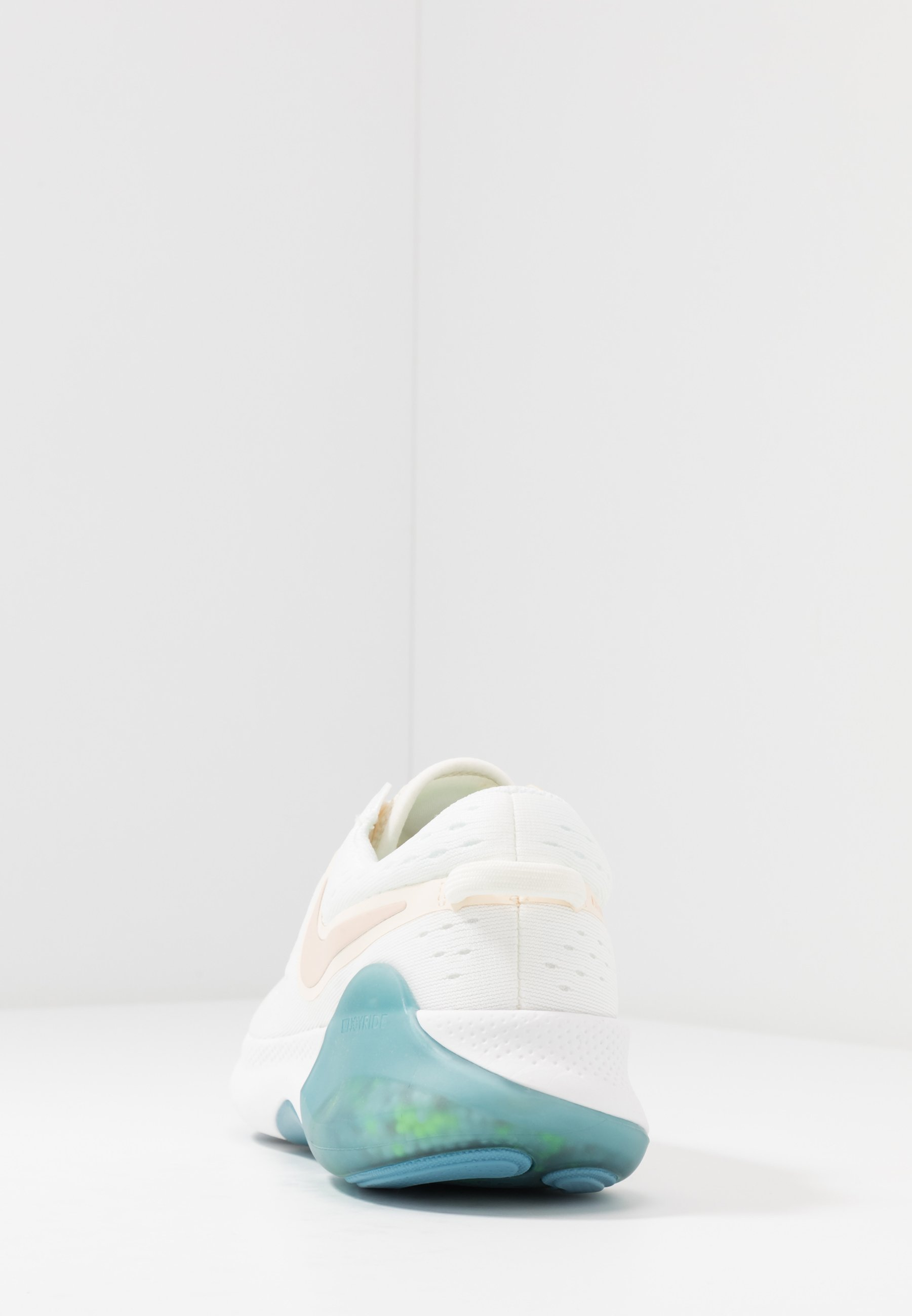 Nike Performance JOYRIDE DUAL  - Nøytrale løpesko - sail/shimmer/pale ivory/cerulean/barely volt/pink quartz
