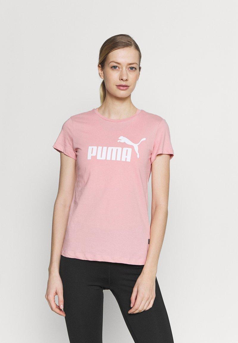 Puma - LOGO TEE - Camiseta de deporte - bridal rose