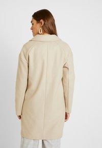 Topshop - JANE CHUCK ON - Classic coat - oat - 2
