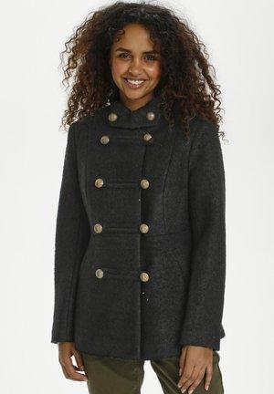 ANNABELL  - Short coat - pitch black