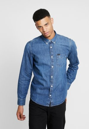 BUTTON DOWN - Shirt - oil blue