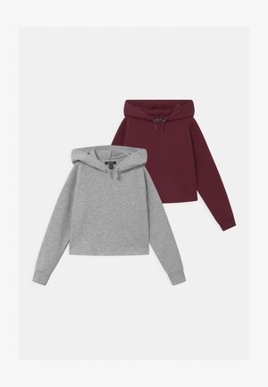 HOODY 2 PACK - Mikina s kapucí - mid grey