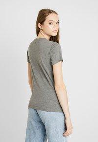 Hollister Co. - TECH CORE - Print T-shirt - grey - 2