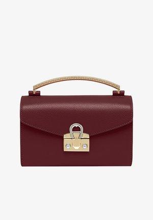 MINA  - Across body bag - burgundy