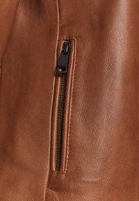 Tommy Hilfiger - DAISY JACKET - Leather jacket - cognac - 2