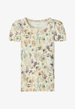 T-shirt print - afterglow
