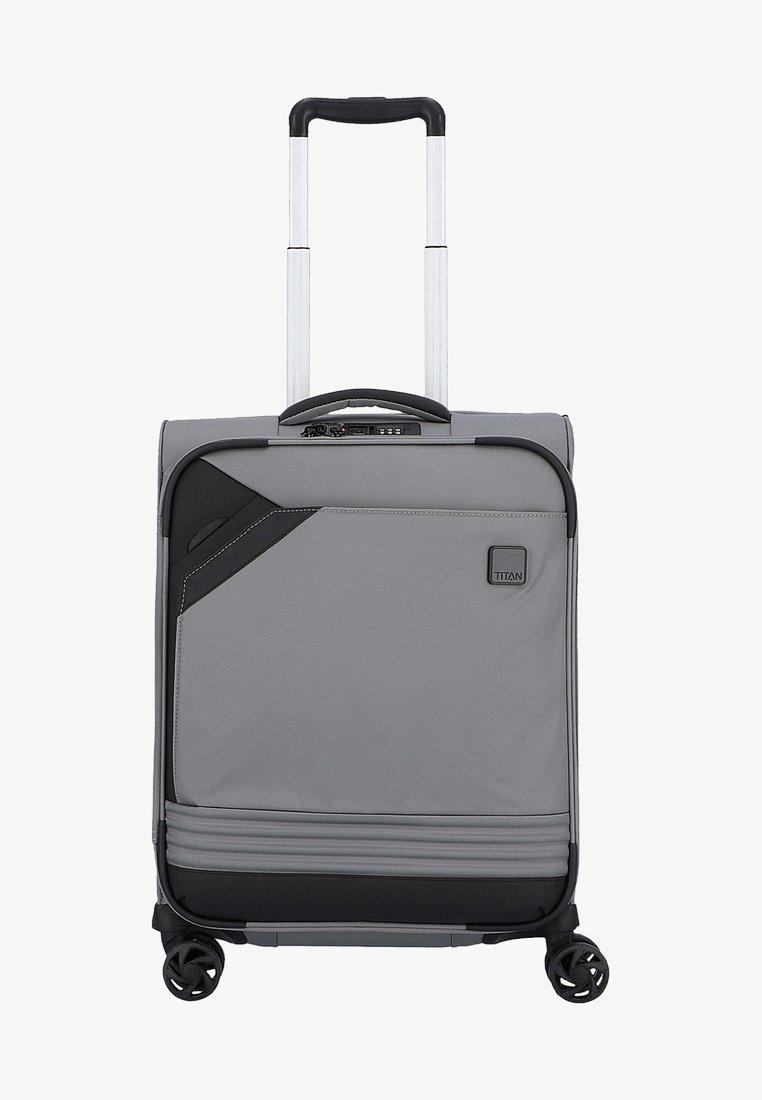 Titan - FOXX  - Wheeled suitcase - silver black