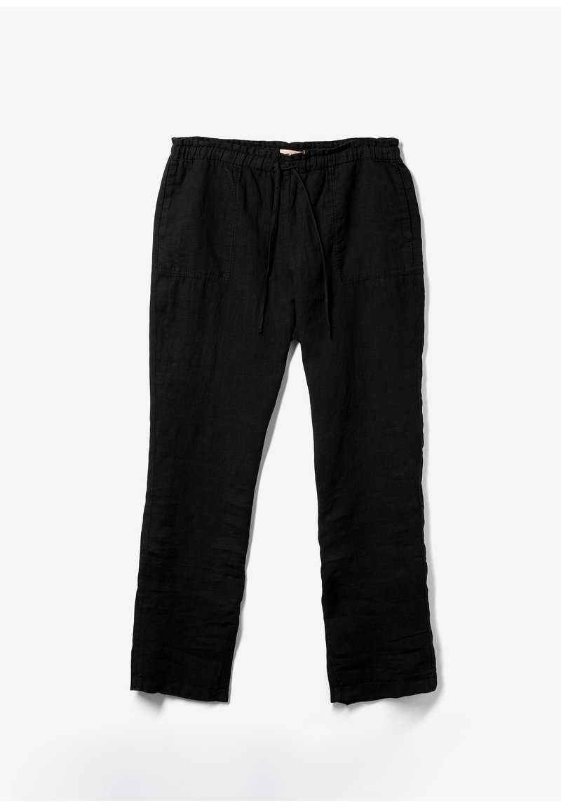 Triangle - RELAXED FIT - Trousers - black