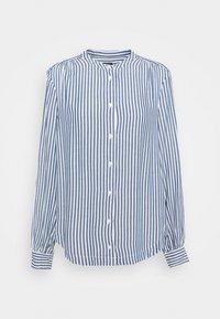 GAP - SHIRRED - Button-down blouse - blue - 0