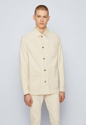 MOORE - Giacca di jeans - open white