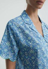 OYSHO - Button-down blouse - blue - 3
