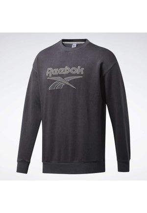 CLASSICS PREMIUM VECTOR CREW SWEATSHIRT - Sweatshirt - black