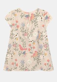 Lindex - MINI - Print T-shirt - light beige melange - 1