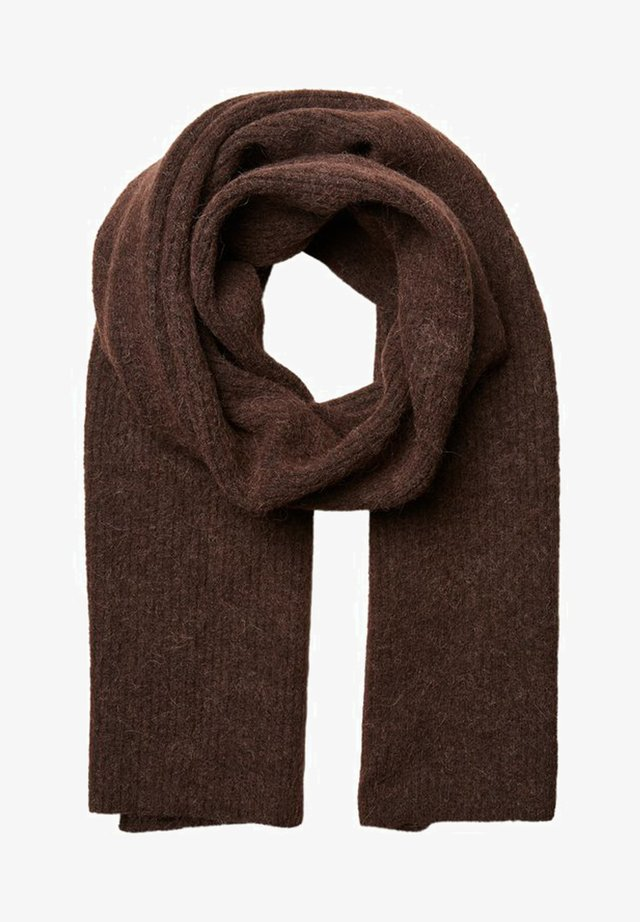Scarf - coffee bean