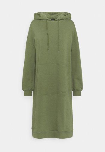 DRESS HOOD - Day dress - dried sage