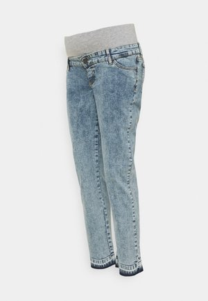 MLKIRK CROPPED COMFY FIT - Slim fit jeans - blue denim