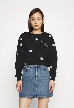 ONLFINA LIFE O NECK - Sweatshirt - black