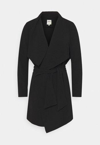ONLRUNA SPRING COAT - Abrigo corto - black