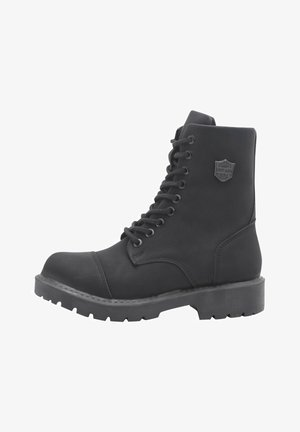 MILITARY SUAREZ - Lace-up ankle boots - black