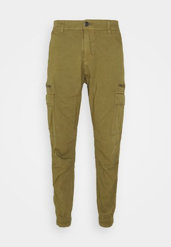 URBAN - Pantaloni cargo - duster khaki